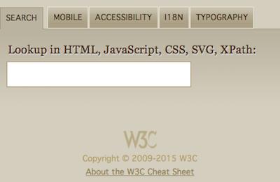asset v1:W3Cx+W3C HTML5+2015T3+type@asset+block@W3Ccheatsheet - The W3C cheatsheet